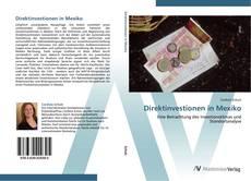 Buchcover von Direktinvestionen in Mexiko