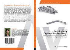 Couverture de Soziologische Organisationsberatung?