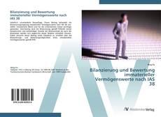 Copertina di Bilanzierung und Bewertung immaterieller Vermögenswerte nach IAS 38