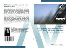 Bookcover of Schlüsselaustauschkonzepte für mehr als zwei Parteien