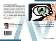 Borítókép a  Christenlehre in der DDR - hoz