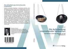 Capa do livro de Die Aufarbeitung internationaler Verbrechen