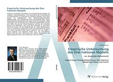 Bookcover of Empirische Untersuchung des Drei Faktoren Modells