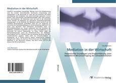 Mediation in der Wirtschaft kitap kapağı