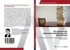 Capa do livro de Die personelle Internationalisierung der Hochschule