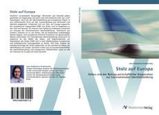 Capa do livro de Stolz auf Europa