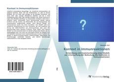Couverture de Kontext in Immunreaktionen