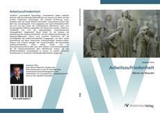 Buchcover von Arbeitszufriedenheit