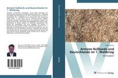 Capa do livro de Armeen Rußlands und Deutschlands im 1. Weltkrieg