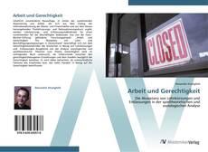 Bookcover of Arbeit und Gerechtigkeit