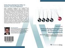 Bookcover of Verkaufspsychologische Hilfen im Seminar- und Vortragsbereich