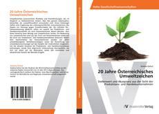 Bookcover of 20 Jahre Österreichisches Umweltzeichen