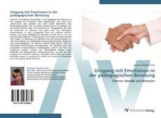 Portada del libro de Umgang mit Emotionen in der pädagogischen Beratung