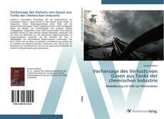 Buchcover von Vorhersage des Verlusts von Gasen aus Tanks der chemischen Industrie