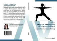 Buchcover von Implizite und explizite Selbstwertschätzung