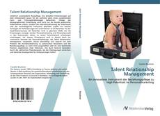 Talent Relationship Management的封面