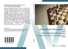 Capa do livro de Strategisches Management von Fernsehunternehmungen