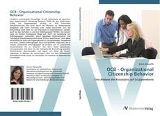 Bookcover of OCB - Organizational Citizenship Behavior