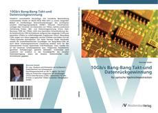 Bookcover of 10Gb/s Bang-Bang Takt-und Datenrückgewinnung