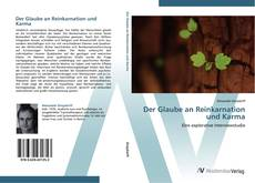 Capa do livro de Der Glaube an Reinkarnation und Karma