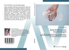 Bookcover of Zum Einfluss von Essstörungen