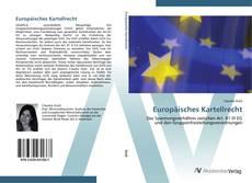 Portada del libro de Europäisches Kartellrecht