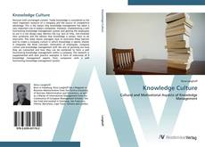 Knowledge Culture kitap kapağı