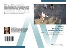 Buchcover von Bildung und Chancengleichheit