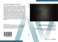 Buchcover von Does Postmodernism Compare?