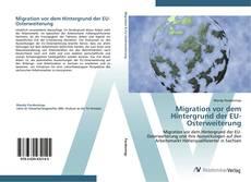 Bookcover of Migration vor dem Hintergrund der EU-Osterweiterung