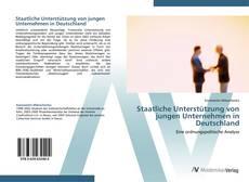 Buchcover von Staatliche Unterstützung von jungen Unternehmen in Deutschland