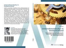 Buchcover von Unternehmenskultur in Ostdeutschland