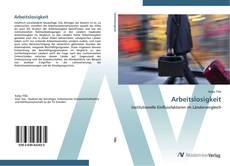 Buchcover von Arbeitslosigkeit