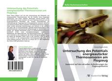 Capa do livro de Untersuchung des Potentials energieautarker Thermosensoren am Flugzeug