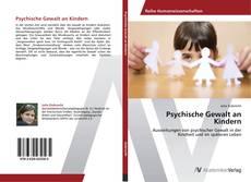 Psychische Gewalt an Kindern kitap kapağı
