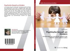 Bookcover of Psychische Gewalt an Kindern