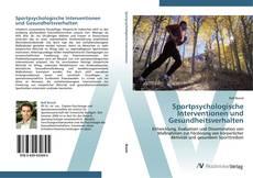 Portada del libro de Sportpsychologische Interventionen und Gesundheitsverhalten