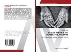 Portada del libro de Soziale Arbeit in der stationären Altenhilfe