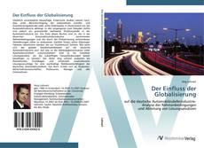 Capa do livro de Der Einfluss der Globalisierung