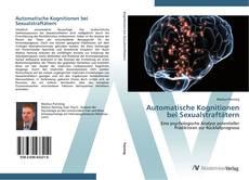 Bookcover of Automatische Kognitionen bei Sexualstraftätern
