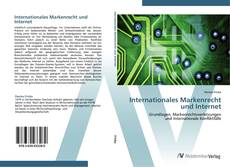 Internationales Markenrecht und Internet kitap kapağı