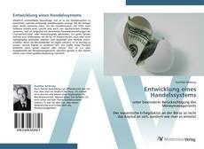Capa do livro de Entwicklung eines Handelssystems