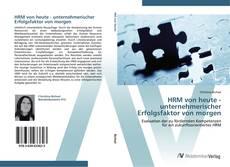 Capa do livro de HRM von heute - unternehmerischer Erfolgsfaktor von morgen