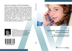Bookcover of Sprache managen auf Firmenebene!