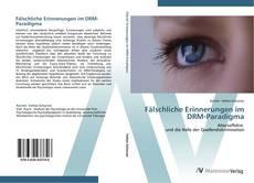 Capa do livro de Fälschliche Erinnerungen im DRM-Paradigma