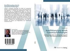 Portada del libro de Konfliktanalyse durch Systemaufstellungen