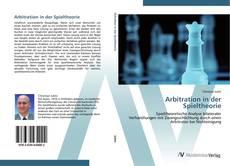 Capa do livro de Arbitration in der Spieltheorie