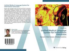 Copertina di Unified Medical Language System for Information Extraction