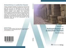 Capa do livro de Antisemitismus in arabischen Staaten