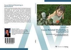 Bookcover of Cause-Related Marketing in Deutschland